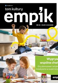 Gazetka promocyjna EMPiK - Empipk  na jesień  - ważna do 13-10-2020