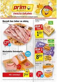 Gazetka promocyjna Prim Market - Świeżo i tanio w Prim Market! - ważna do 07-10-2020