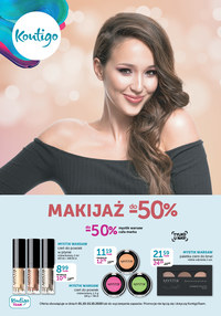 Gazetka promocyjna Kontigo - Makijaż do 50% taniej w Kontigo! - ważna do 15-10-2020