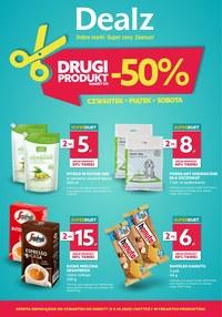 Gazetka promocyjna Dealz - Drugi produkt -50% w Dealz! - ważna do 03-10-2020
