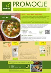 Gazetka promocyjna Organic - Promocje na farmie zdrowia Organic - ważna do 31-10-2020