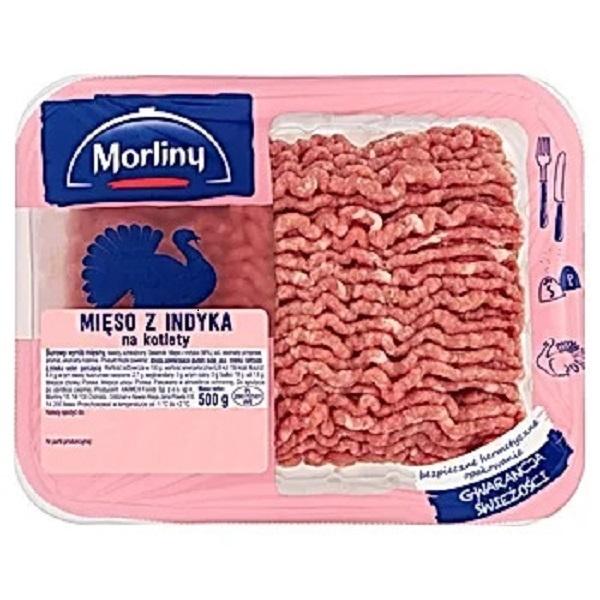 Mięso mielone z indyka Morliny 500 g
