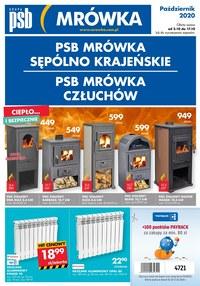 Gazetka promocyjna PSB Mrówka - PSB Mrówka Człuchów - ważna do 17-10-2020