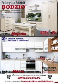 Gazetka promocyjna Bodzio - Fabryka mebli w Bodzio - ważna do 31-12-2020