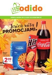 Gazetka promocyjna Odido - Jesienna promocja w Odido - ważna do 15-10-2020