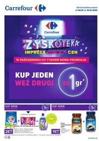 Gazetka promocyjna Carrefour - Kupuj za grosze w Carrefour! - ważna do 10-10-2020