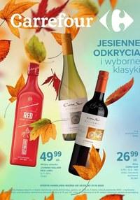 Gazetka promocyjna Carrefour - Jesienne odkrycia w Carrefour - ważna do 31-10-2020