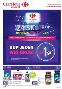 Gazetka promocyjna Carrefour Market - Kupuj za grosze w Carrefour Market - ważna do 10-10-2020
