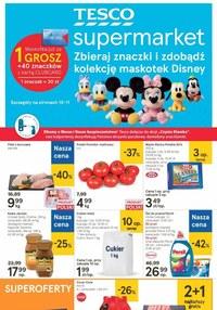 Gazetka promocyjna Tesco Supermarket - Superoferty w Tesco Supermarket - ważna do 14-10-2020