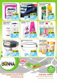 Gazetka promocyjna Bonna - Bonna - Twoje zakupy blisko domu