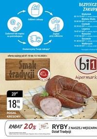 Gazetka promocyjna bi1 - bi1 - smak tradycji - ważna do 13-10-2020