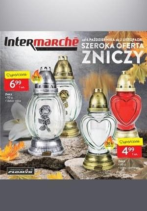 Gazetka promocyjna Intermarche Super - Katalog Zniczy Intermarhe!