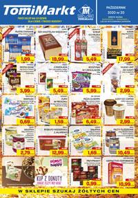 Gazetka promocyjna TomiMarkt - Promocje w Tomimarkt! - ważna do 15-10-2020