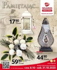 Katalog zniczy Selgros
