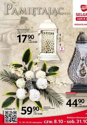 Gazetka promocyjna Selgros Cash&Carry - Katalog zniczy Selgros