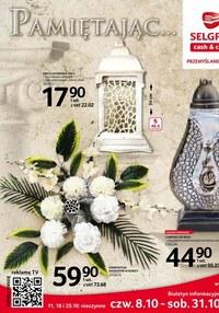 Gazetka promocyjna Selgros Cash&Carry - Katalog zniczy Selgros - ważna do 31-10-2020