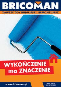 Gazetka promocyjna Bricoman - Wykończenie ma znaczenie w Bricoman - ważna do 18-10-2020