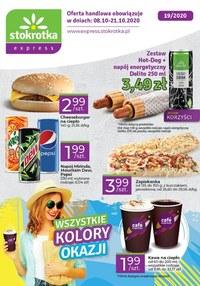 Gazetka promocyjna Stokrotka Express - Kolory okazji w Stokrotka Express - ważna do 21-10-2020
