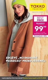 Płaszcz na jesień z Takko Fashion