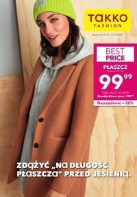 Gazetka promocyjna Takko Fashion - Płaszcz na jesień z Takko Fashion  - ważna do 21-10-2020