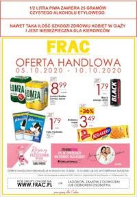 Gazetka promocyjna FRAC - Oferta handlowa w Frac - ważna do 10-10-2020
