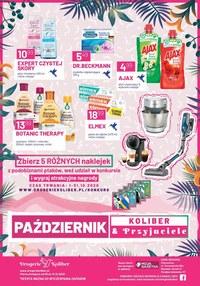 Gazetka promocyjna Drogerie Koliber - Październikowe promocje w Drogerii Koliber