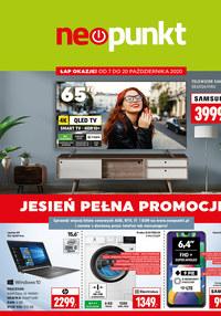 Gazetka promocyjna NEOPUNKT - Jesień pełna promocji w Neopunkt - ważna do 20-10-2020