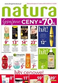 Gazetka promocyjna Drogerie Natura - Ceny -70% w Drogerii Natura