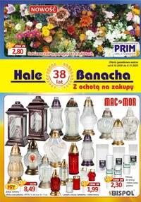 Gazetka promocyjna Hala Banacha - Hale Banacha - z ochotą na zakupy - ważna do 08-11-2020