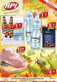 Gazetka promocyjna Api Market - Udane zakupy w Api Market - ważna do 20-10-2020