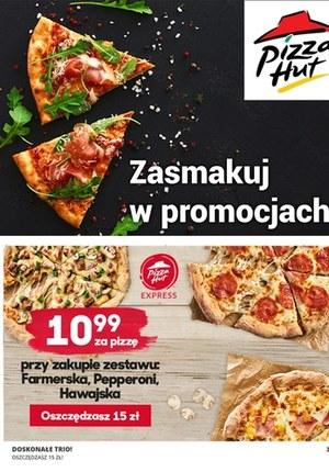 Gazetka promocyjna Pizza Hut - Pizza Hut - katalog rabatowy!