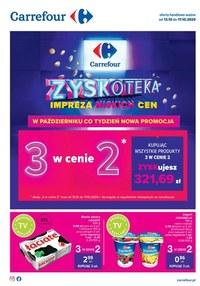 Gazetka promocyjna Carrefour - Zyskoteka w Carrefour - ważna do 17-10-2020