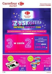 Gazetka promocyjna Carrefour Market - Zyskoteka w Carrefour Market - ważna do 17-10-2020