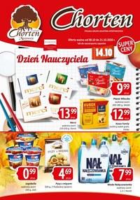 Gazetka promocyjna Chorten - Dzień nauczyciela w Chorten - ważna do 21-10-2020