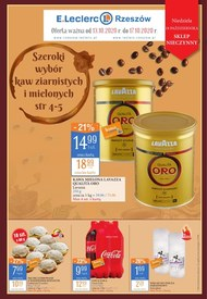 Sprawdź promocje na kawę w E.leclerc Rzeszów