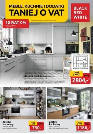 Gazetka promocyjna Black Red White - Black Red White - Meble, kuchnie i dodatki