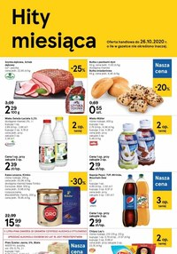 Gazetka promocyjna Tesco Centra Handlowe - Super okazje w sklepach Tesco!