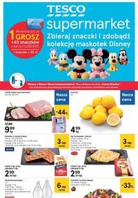 Gazetka promocyjna Tesco Supermarket - Jeszcze więcej promocji w Tesco Supermarket! - ważna do 21-10-2020