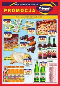 Gazetka promocyjna Primus - Promocja w sklepie Primus - ważna do 26-10-2020