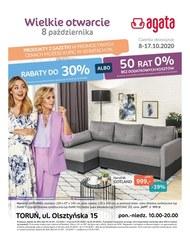 Wielkie otwarcie salony Agata w Toruniu
