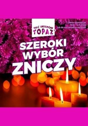 Gazetka promocyjna Topaz - Topaz - szeroki wybór zniczy