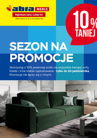 Gazetka promocyjna Abra - Sezon na promocje w Abra - ważna do 20-10-2020
