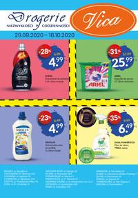 Gazetka promocyjna Vica - Promocje w sklepach Vica - ważna do 18-10-2020