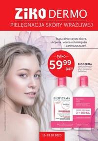 Gazetka promocyjna Ziko Dermo  - Pielęgnacja skóry z Ziko Dermo! - ważna do 28-10-2020