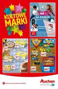 Kultowe marki w Auchan