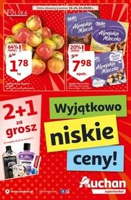 Wyjątkowo niskie ceny w Auchan Supermarket