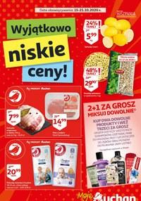 Gazetka promocyjna Moje Auchan - Wyjątkowo niskie ceny w Moje Auchan - ważna do 21-10-2020