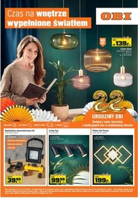 Gazetka promocyjna OBI - Czas na oświetlone wnętrze w Obi! - ważna do 27-10-2020