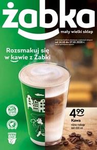 Rozsmakuj się w kawie z Żabki!