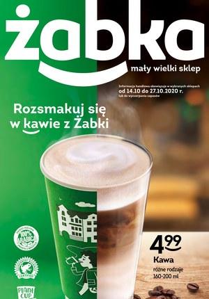 Gazetka promocyjna Żabka - Rozsmakuj się w kawie z Żabki!